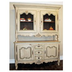 French 18th Century Painted Buffet