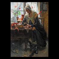Oil on Canvas, Alois Boudry