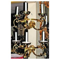 Darling Pair of Wall Sconces