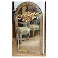 Rare French Bagues Mirror
