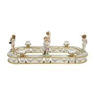 Louis XV Style German Porcelain Surtout