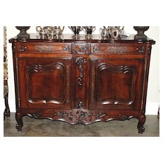 French Provincial Walnut Sever