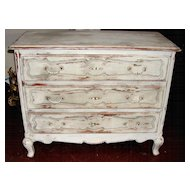 Louis XIV Style Painted Commode