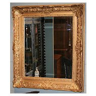 French Gilt Framed Mirror