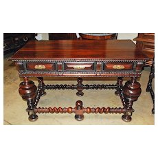 Portuguese Rosewood Table