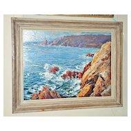 "Wonderful Oil on Board ""Coastal Scene"""