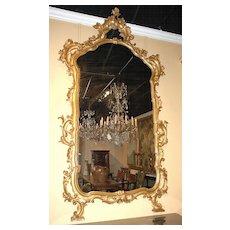 18th Century Italian Gilt Mirror