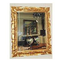 Very Nice French Gilt Wood Mirror