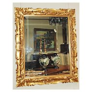 Very Nice French Gilt Wood Mirror