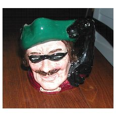 Intriguing Small Toby Jug Dick Turpin