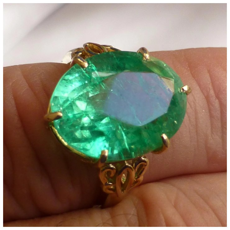 gemstone huge birth emerald mined real may fullxfull green large earth genuine c pear products cut natural ct il certified
