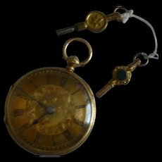 1890 Key wind 18k Pocket Watch * * * * *