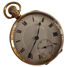 Heavy 1924 Gold Pocket watch