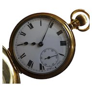 Swiss with ENGLISH Hallmark for 18k / 1920 Pocket Watch