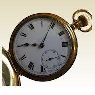 Swiss with ENGLISH Hallmark for 18k / 1920 Pocket Watch