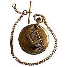Masonic Pocket watch & Chain