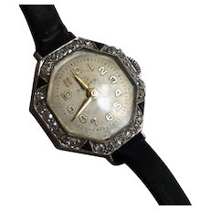 1920-30s Diamond Ladies wrist watch