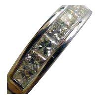 3/4 of a Carat Diamond, Princess Cut Diamond Ring