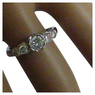 Stunning 5 stone Diamond ring