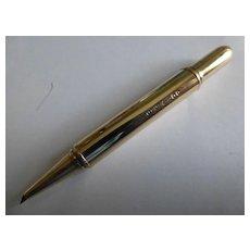 """Asprey"" Gold propelling Pencil"