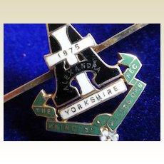 Yorkshire Regiment Gold English Brooch