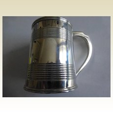 A fine LONDON 1804 Silver Christening Mug