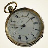 1893 Heavy 18k Centre Seconds Chronograph Pocket Watch