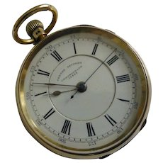 1893 Heavy 18k Centre Seconds Chronograph Pocket Watch
