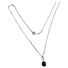 Neat BLACK pearl gold Pendent