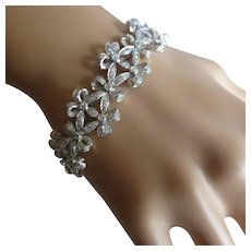 4 Carat DIAMOND Bracelet of Christmas…..for this price ! !