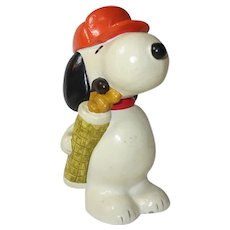 Snoopy ceramic money box 1960's