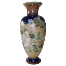 Large Royal Doulton vase 1910