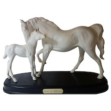 "Royal Doulton ""Spirit of Affection"" horse group"