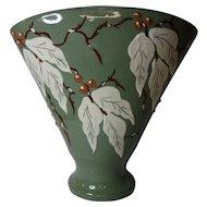 C H Brannam Devon Pottery Vase