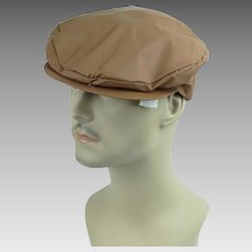 Authentic 1920s-30s Eight Panel Newsboy Work Flat Cap Vintage Hat ... cd5e1cf8a6e4
