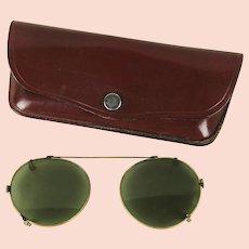 f14c475f7d Vintage 1950s 1960s B L Ray Ban Cat Eye Sunglasses Pearl   Black in ...