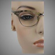 1950s Vintage Cat Eye Glasses Eyeglasses Art Craft