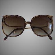 1980s Vintage Sunglasses - Oversized Non-Prescription Eyewear