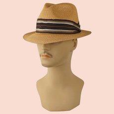 cfc553bfb Fantastic Black European Fedora Hat : Eleanor's Legacy | Ruby Lane