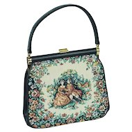 Vintage Tapestry Handbag by JR