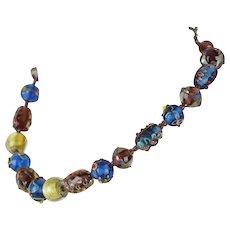 Venezia Murano Glass Beads | Original Box | 17 Inch