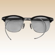 1950s Vintage Eyewear Midcentury G Man Browline Eyeglasses