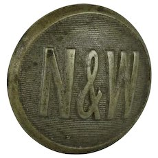 Vintage Norfolk & Western Railway N&W Hatpin