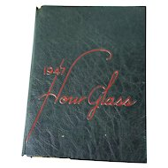 1947 Hour Glass High School Yearbook | Anniston Alabama