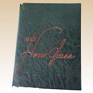 1947 Hour Glass High School Yearbook | Anniston Alabama