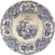 Royal Mfg. Antique Soup Plate - ca:1830