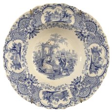 Royal Mfg. Antique Soup Plate - ca:1830