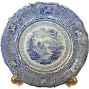 Cologne Blue & White Plate - ca: 1800's