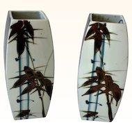 Vases, Japanese Mid century