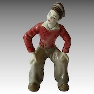 Dutch Boy Dancing Figurine